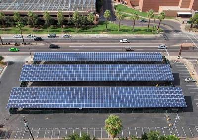 Solar: Installations: Parking Lot 19 | Business and Finance