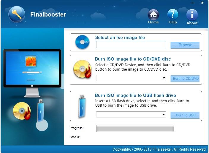 Finalbooster - Windows 7/8 USB install Tool - windows repair install