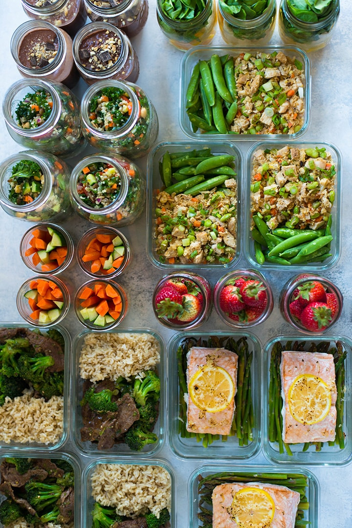 7-Day Meal Prep For Weight Loss \u2022 A Sweet Pea Chef