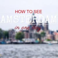 How to See Amsterdam in One Day