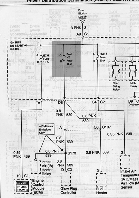 2003 duramax ecm wiring diagram chevy i need a complete wiring