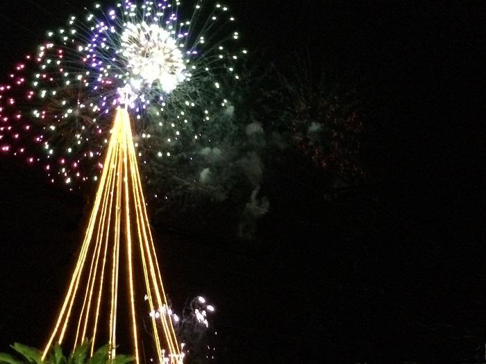 クリスマス花火ファンタジア