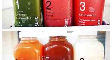 Snap Kitchen's Clean Start juice program