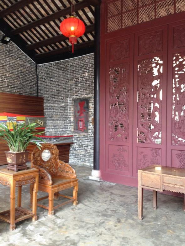 九龍寨城衙門內
