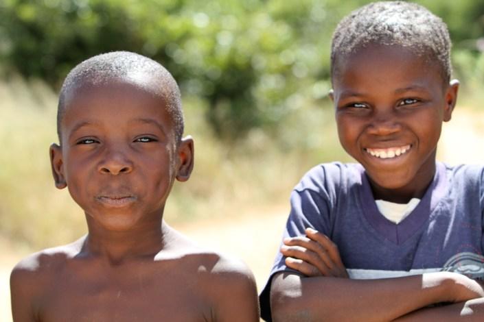 Children in de Caprivi