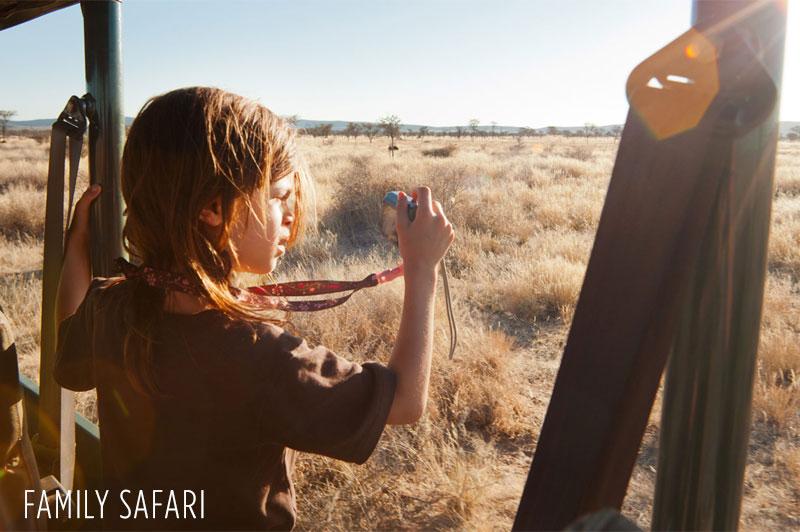 Safari with Children, Family Safari