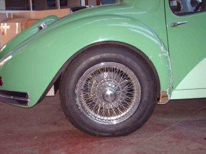 Atalante 57 S JLF avant restauration roue arrière