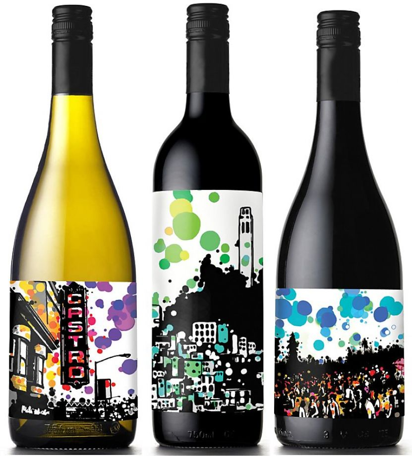 10 Great Examples of Colorful Wine Labels That Stand Out - wine label