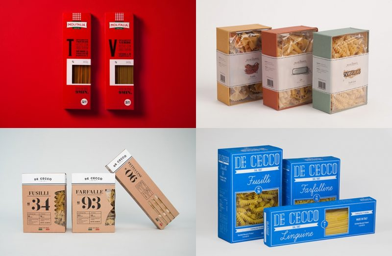 20 Pasta Box Packaging Designs You\u0027ll Love To Buy - AterietAteriet