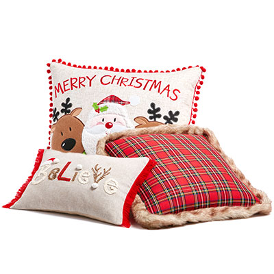 Christmas Home Decor At Home - decorative christmas pillows