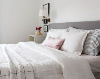 How to Style Pillows on a King Size Bed | At Home In Love