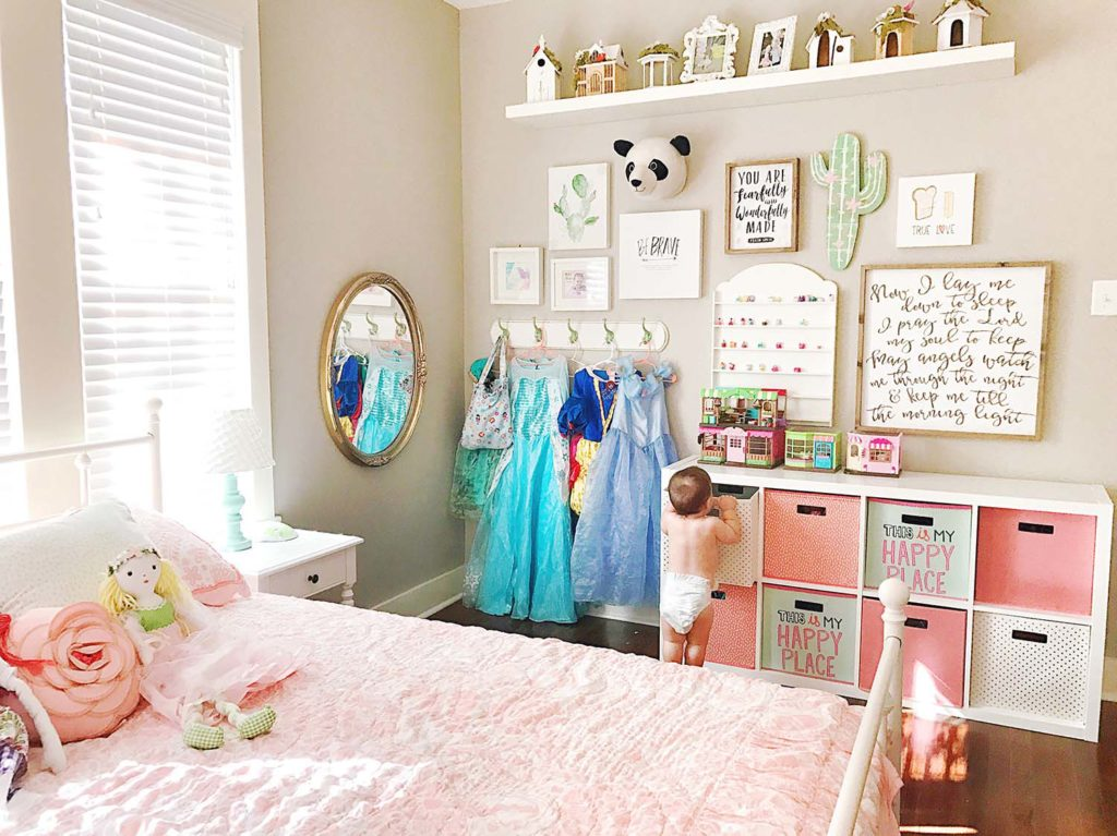 The Girls Shared Room  Decor and Storage  At Home With