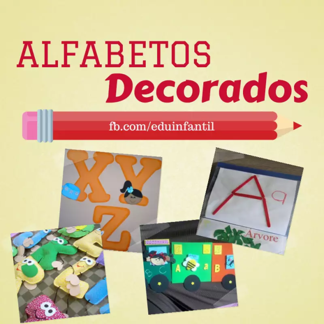 alfabeto decorado