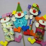 doces decorados para o carnnaval