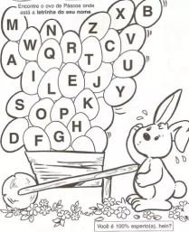 42 Atividades de Páscoa para Pintar   datas comemorativas  | Atividades para Educacao Infantil