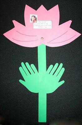 flor dia das maes Presentes e Lembrancinhas para o Dia das Mães datas comemorativas | Atividades para Educacao Infantil