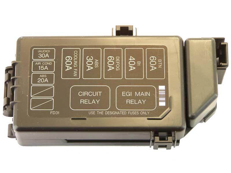 1988 rx7 fuse box location