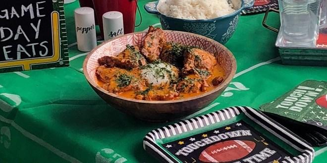 Sanderson Farms Chicken Penang Curry Braised Chicken Recipe