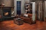 Rustic Ceramic Tile Fireplaces