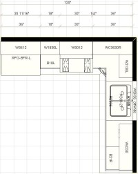 Layout For Kitchen Cabinets | afreakatheart