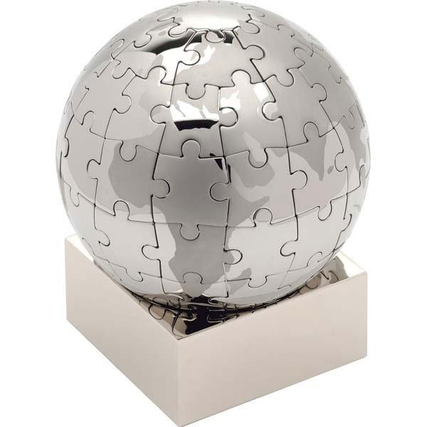 Globe Puzzle - Atlanta Logo Wear  Promotional Products