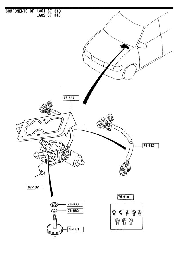 ford contour wiring harness replacement