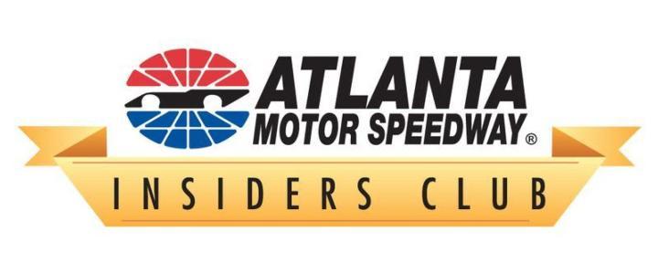 AMS Insiders Club NASCAR Atlanta Motor Speedway