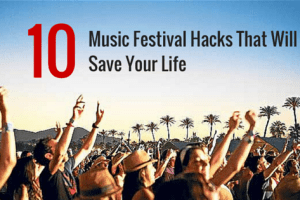 10 Items That Will Save Your Life At A Music Festival