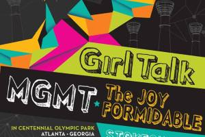 Party in the Park 2014 with Girl Talk, MGMT, The Joy Formidable, Minus the Bear, & Stokeswood!