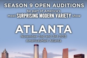 America's Got Talent Comes to Atlanta- Auditions November 2 & 3!