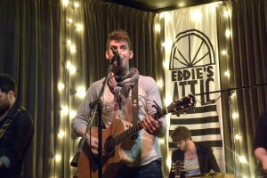 Live Review & Picture Book: Austin Renfroe at Eddie's Attic, Feb. 1st