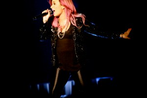 Demi Lovato with Little Mix and Fifth Harmony @ Philips Arena