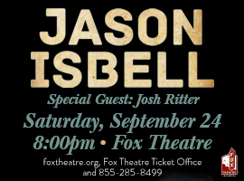 Enter to win tickets to see Jason Isbell and Josh Ritter at The Fox!