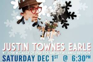 AMG Weekend Picks! Justin Townes Earle, Odist, Eric Hutchinson, and more!