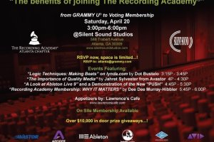 Another chance to learn about the Recording Academy