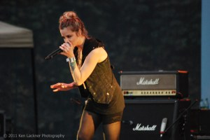 Picture Book: Shiny Toy Guns, Cinetrope at Six Flags Over Georgia, June 18