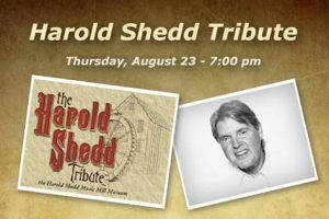 Q & A With Harold Shedd: Country Music Legend Honored at the Mill Town Music Hall