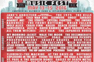 ICYMI: Shaky Knees Adds Additional Artists to Lineup…