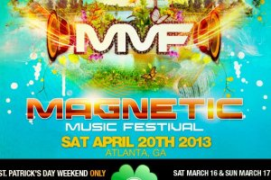 Magnetic Music Festival, April 20th, Announces 4 Leaf Clover Promotion (Available this Weekend Only)!