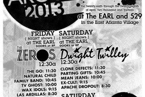 Atlanta Mess Around Festival Schedule, 4/26 & 4/27