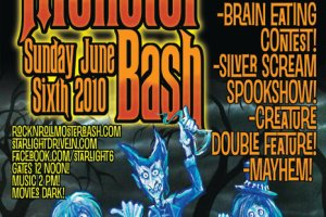 Freak Out at the Rock 'N' Roll Monster Bash at Starlight Six Drive-In – Sunday, June 6!