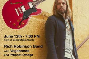 WIN an Autographed Rich Robinson Guitar