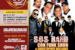 Interview: Christopher Williams; Playing with Con Funk Shun & SOS Band @ Riverdale Amphitheater June 15th!