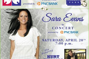 Atlanta Dogwood Festival Concert featuring Sara Evans, Saturday April 20th @ the Piedmont Park Meadow