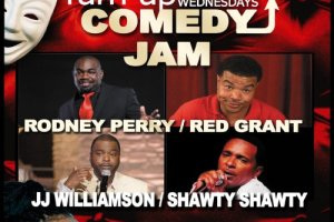 Turn Up Comedy Jam @ Fuego Lounge, January 1st!