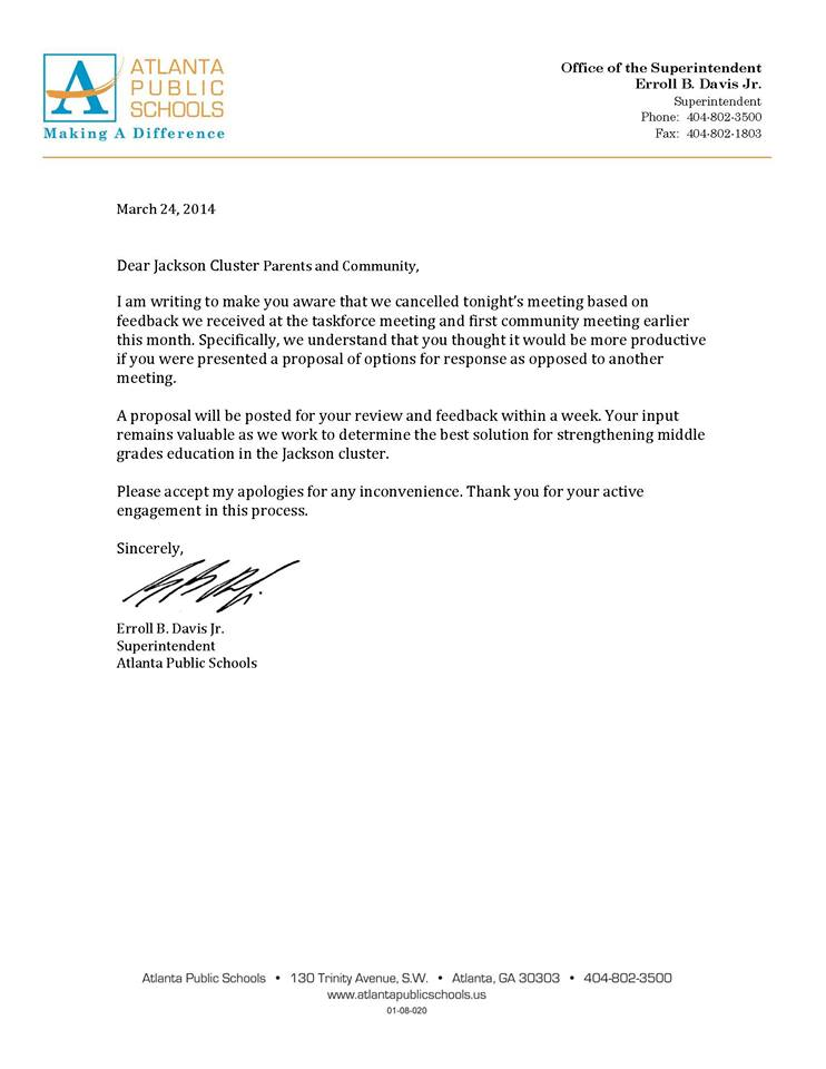 Aatsp Jackson Cluster Middle Grades Education Letters And