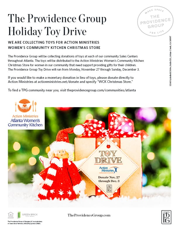 The Providence Group Partners with Action Ministries for Holiday Toy - christmas toy sales