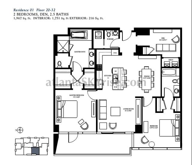 ritz carlton residences buckhead fab 2 bedroom model tour 2 bedroom condo floor plans trend home design and decor