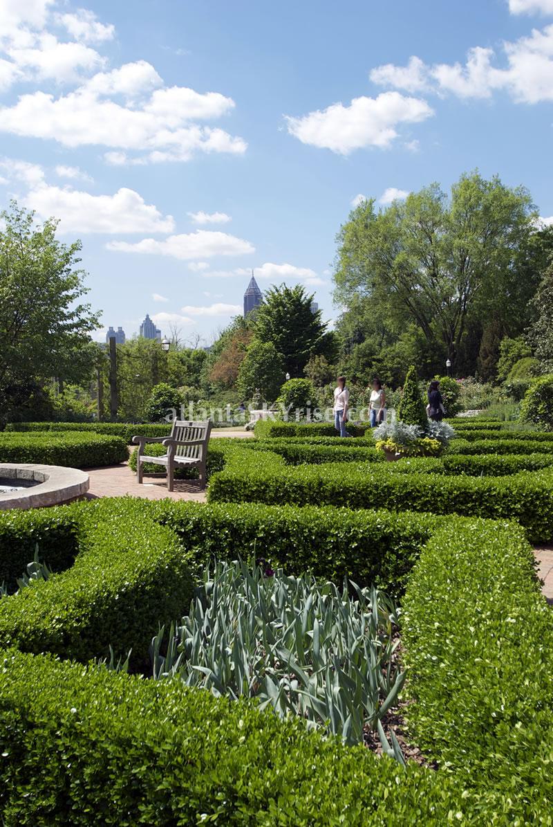 Atlanta botanical garden is in bloom atlantaskyriseblog for Formal japanese garden