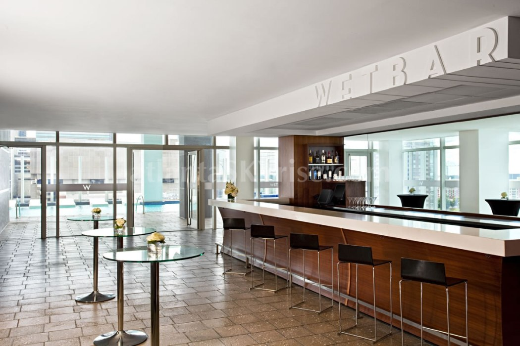 W Atlanta Residences 2304 Wet Bar 1